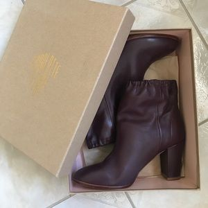 CHARLOTTE STONE AGNES BOOTS IN OXBLOOD
